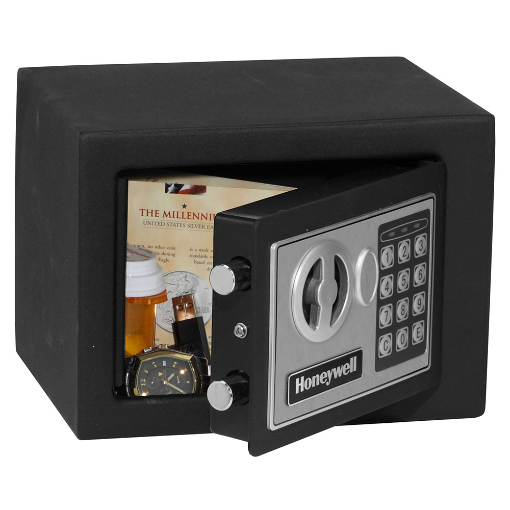 Honeywell 5005 Small Digital Steel Security Safe 0 17 Cu