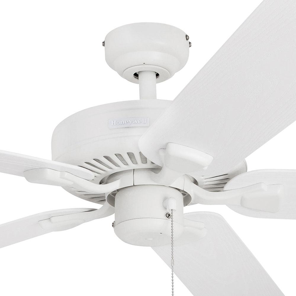 Honeywell Belmar Outdoor Ceiling Fan White Finish 52 Inch 50198