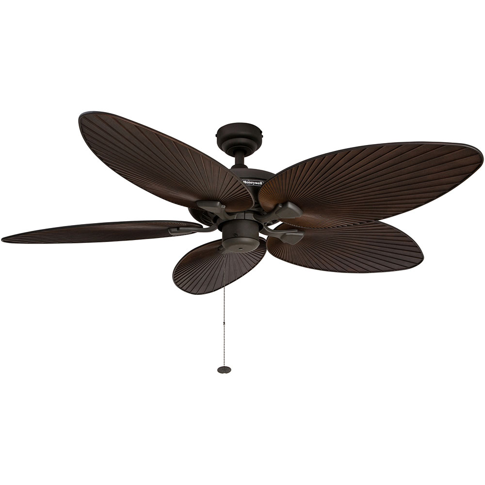 Honeywell Palm Island Ceiling Fan Bronze Finish 52 Inch