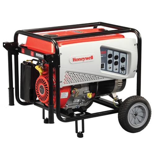 Honeywell Model # 6500-6038, 6,500 Watt 389cc OHV Portable ...