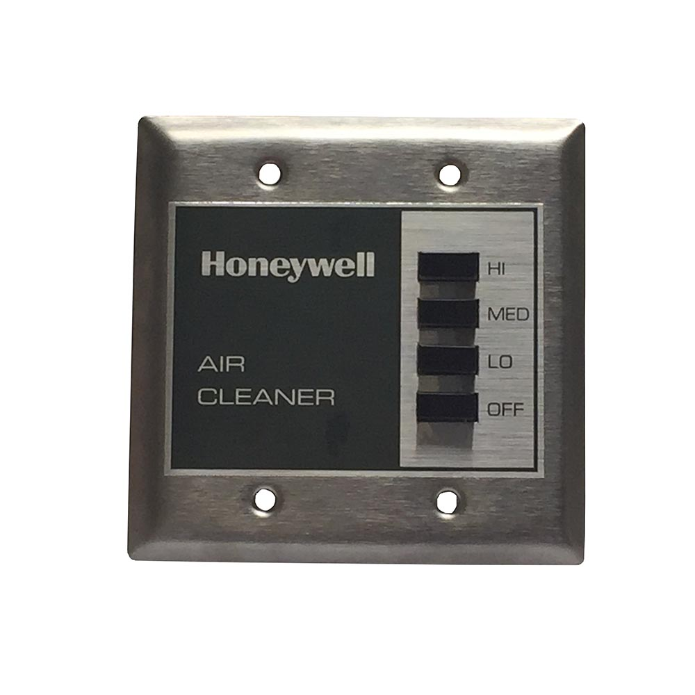Honeywell F111C1073W-3S, 1150 Cfm, Ceiling-Mounted, Comm. Media Air Cleaner, 95% Ashrae Filter & Cpz (40 Lbs), White 120V