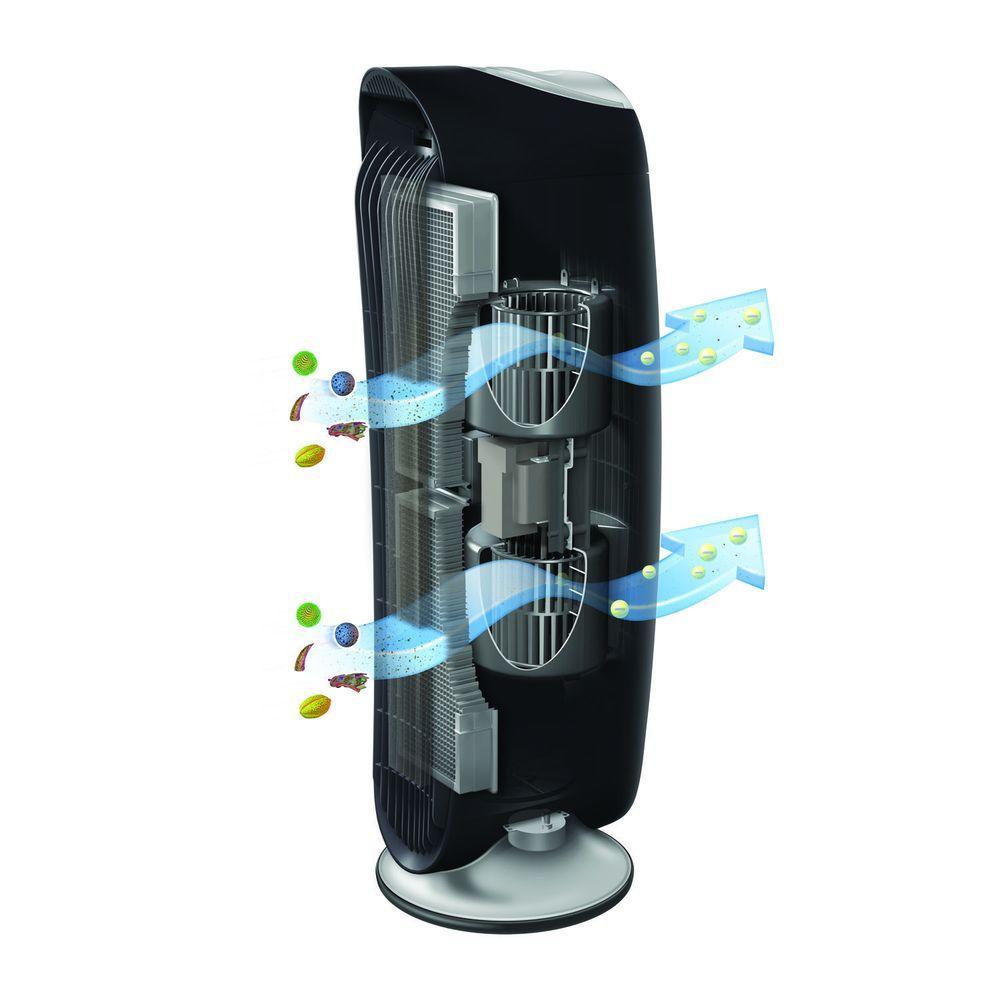 Honeywell Hfd 120 Q Quietclean Tower Air Purifier