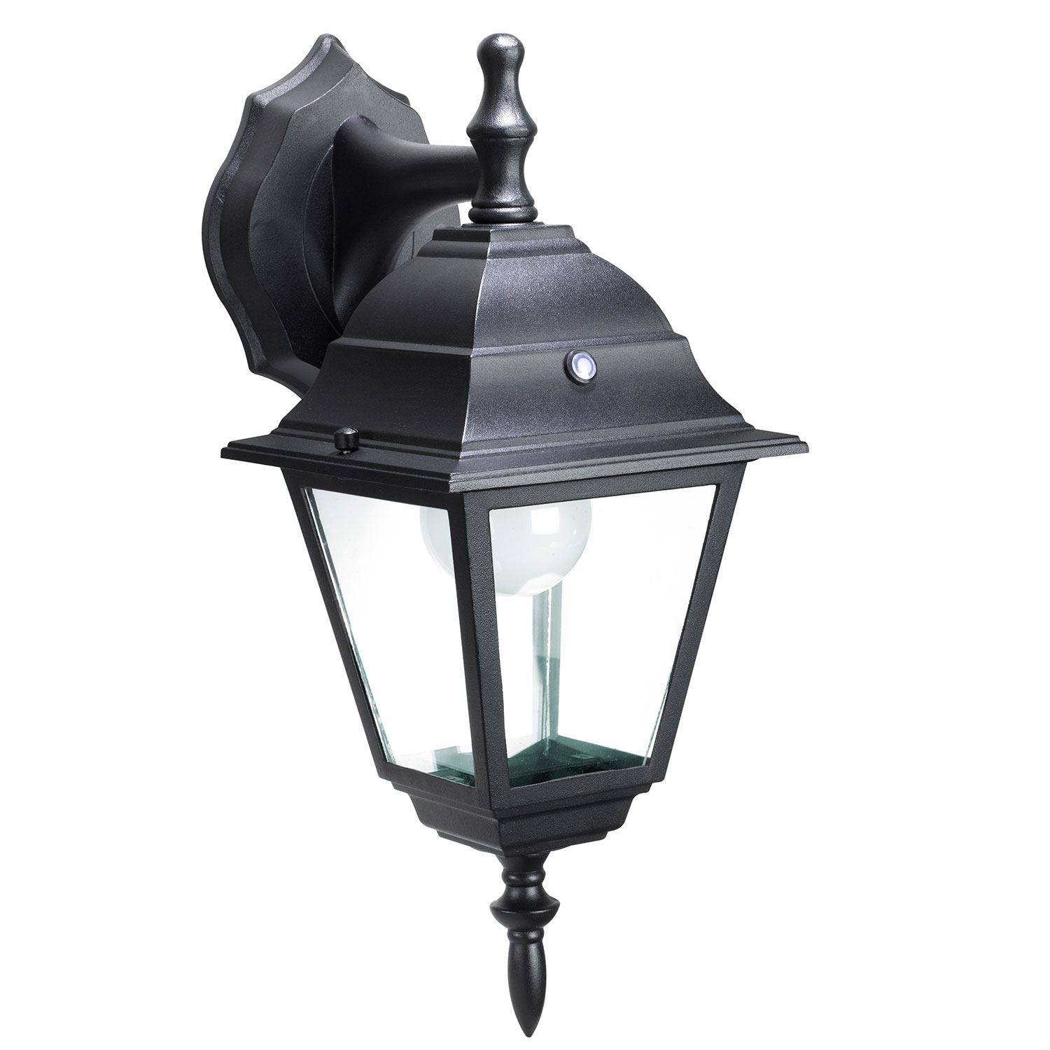 Wall Lantern Led : Honeywell SS0501-08 LED Outdoor Wall Mount Lantern Light, 3000K, 400 Lumens Honeywell Consumer ...