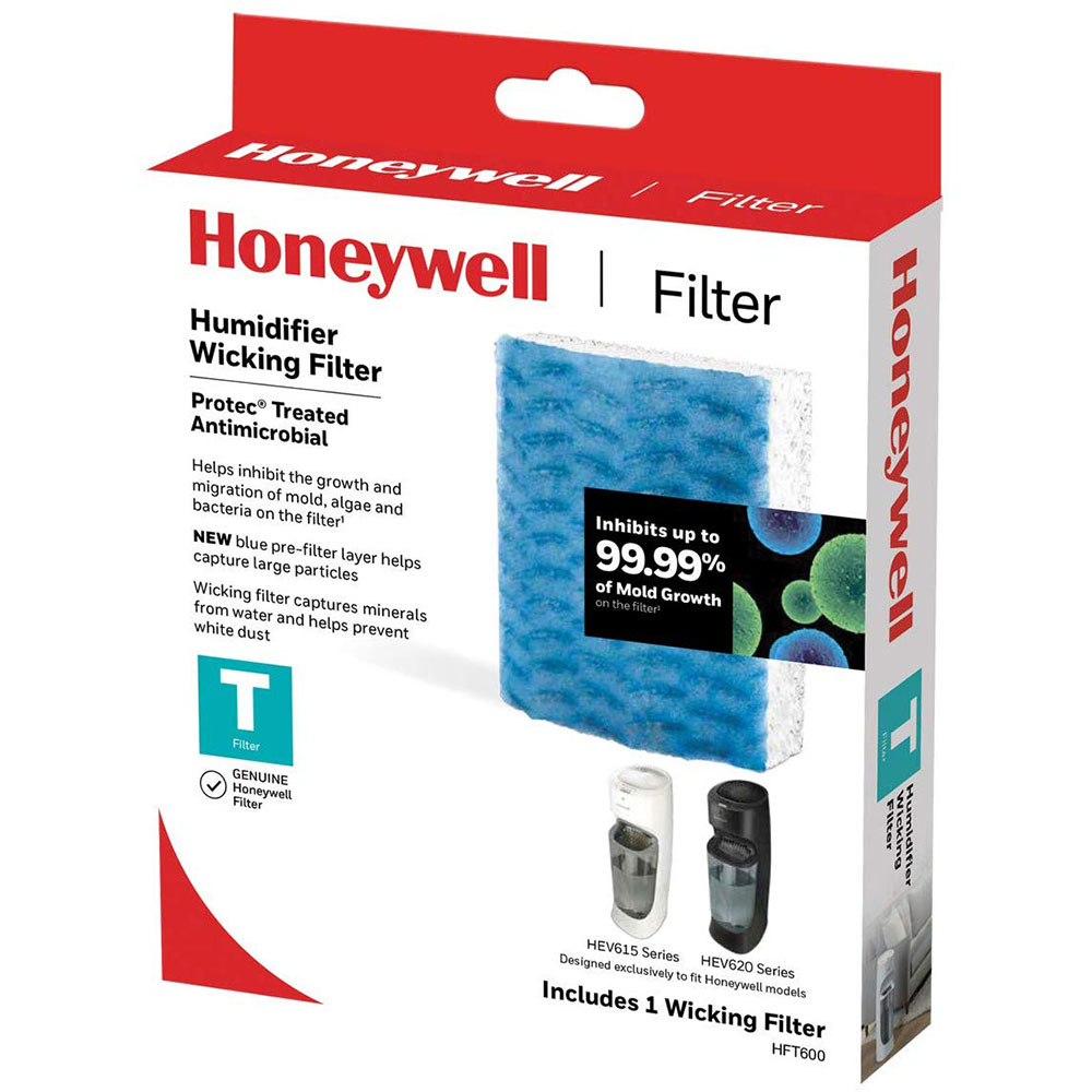 Honeywell HFT600 Replacement Humidifier Filter T for HEV615 and HEV620 Humidifiers