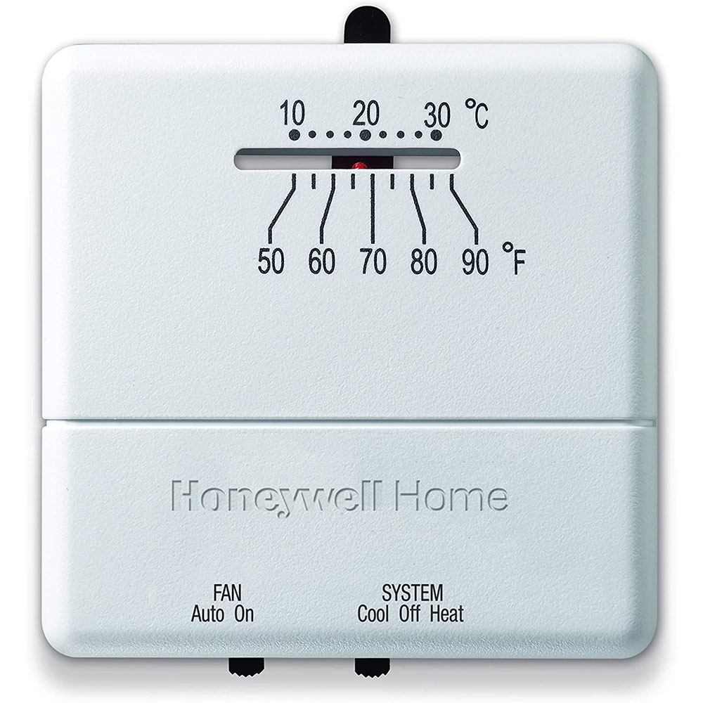 honeywell ct31a1003 e heat and cool non programmable thermostat