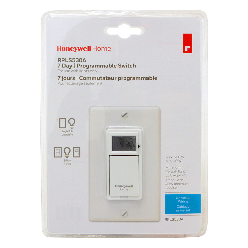 Honeywell Programmable Light Switch Timers, Automatic Lights, and 7 ...