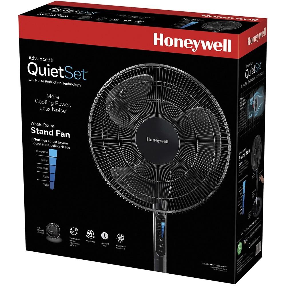 Honeywell Hsf600b Advanced Quietset 16 Quot Stand Fan Black