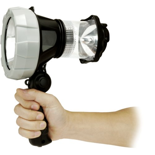Honeywell Rechargeable Led Spotlight With Camping Lantern