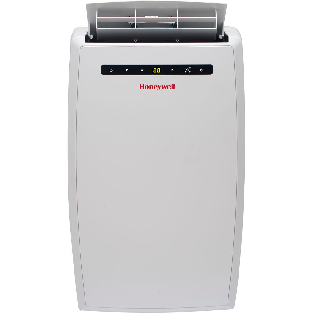 Honeywell MN10CESWW Portable Air Conditioner, 10,000 BTU Cooling, LED Display, Single Hose (White)