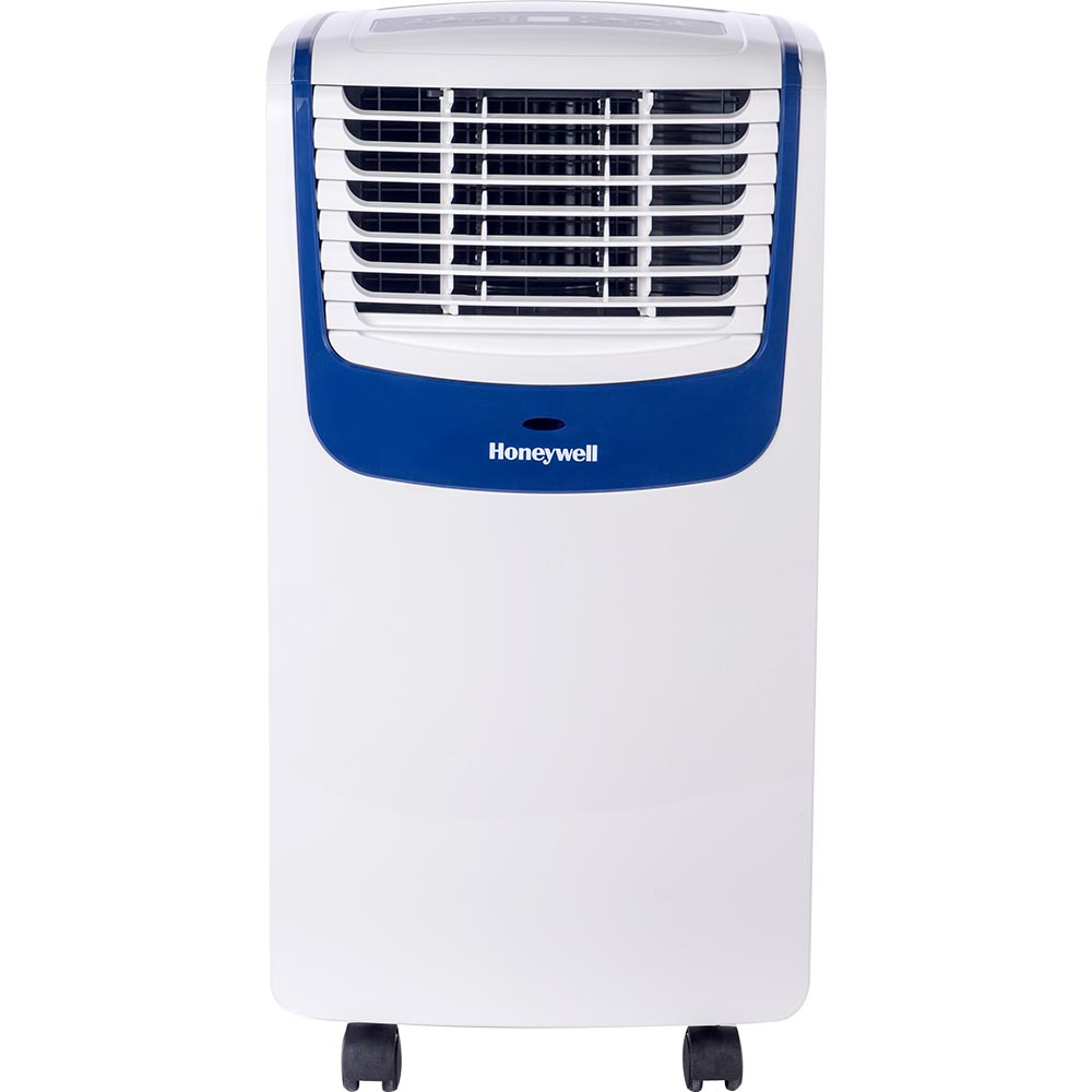 Honeywell MO10CESWB Compact Air Conditionerr, 10,000 BTU Cooling (White/Blue)