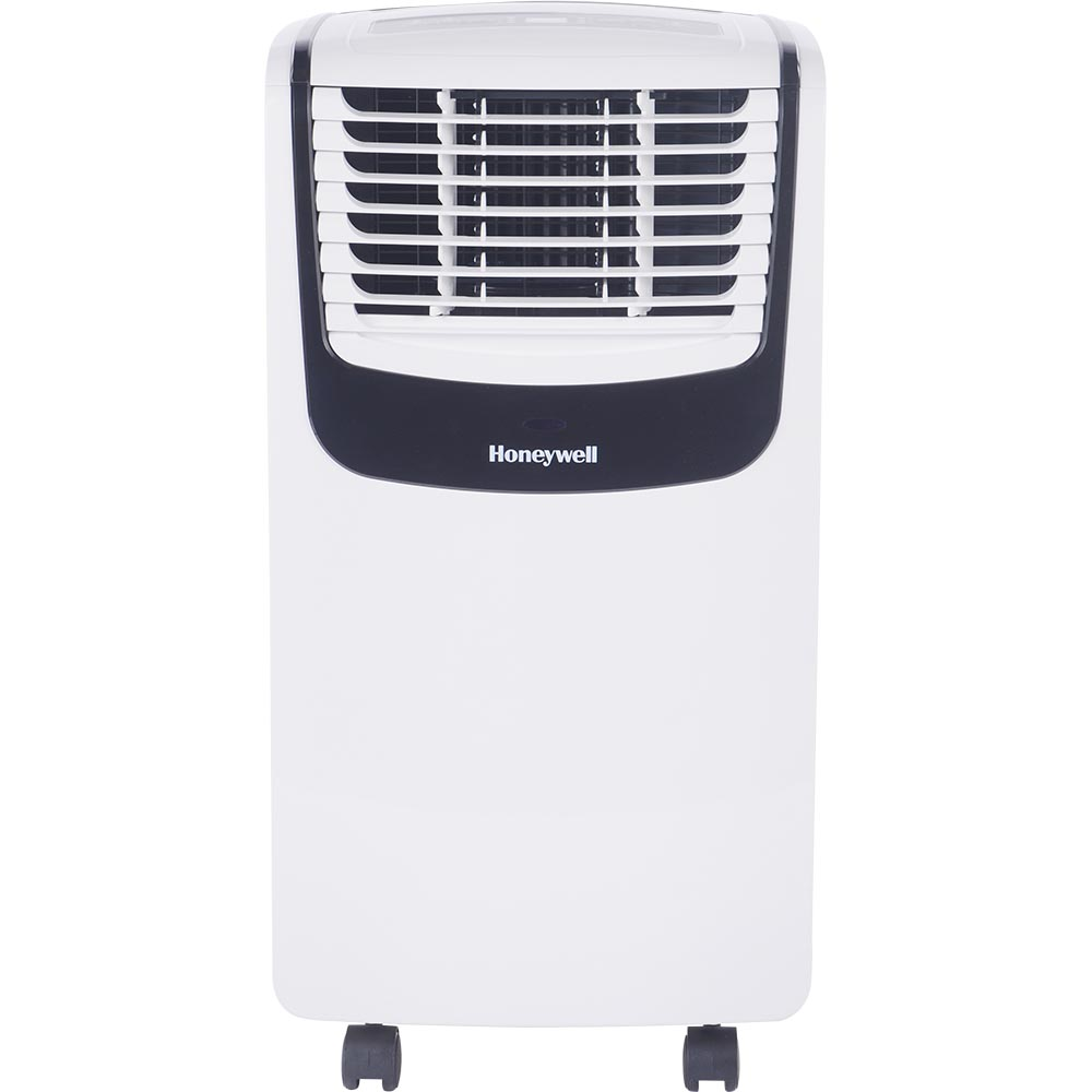 Air Conditioner Fan >> Honeywell Mo08ceswk Compact Portable Air Conditioner With Dehumidifier And Fan White Black