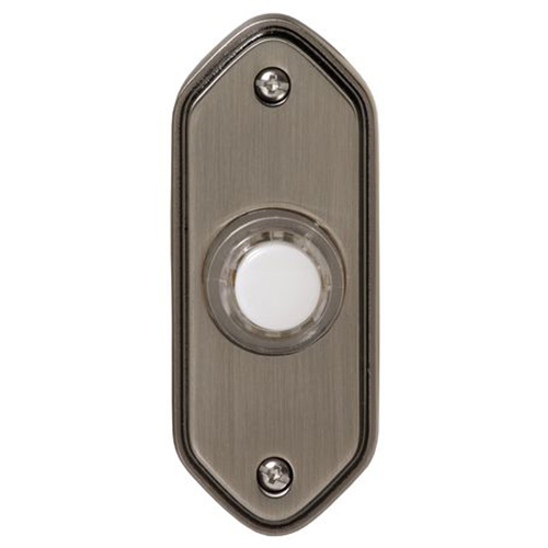 Honeywell Wired Illuminated Push Button For Door Chime, RPW213A1006/A