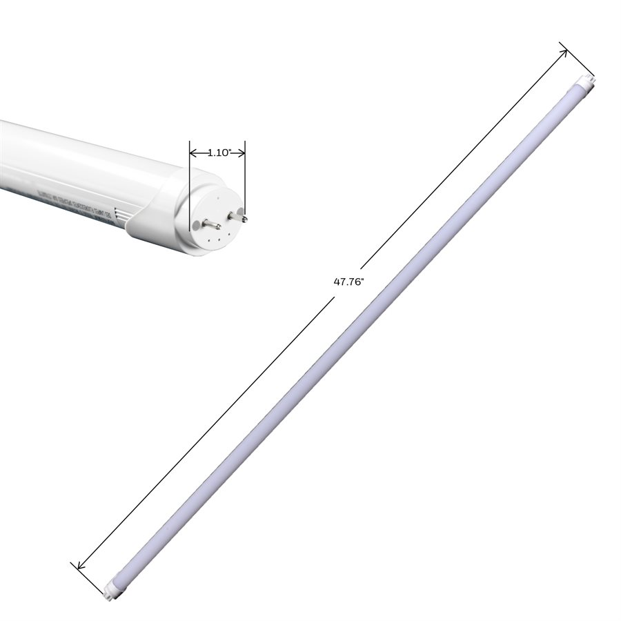 Honeywell T8 LED Tube Light, 32W Equivalent, 2 Pack, T83240HB220