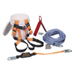 Honeywell Complete Roofer's Fall Protection System with 100-ft. (30 m) rope lifeline - BRFK100-Z7/100FT