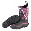 Muck Boots Kid's Hale Outdoor Sport Boot, Black/Muddy Girl, KBH-MSMG