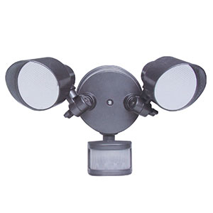 Honeywell 2-Stage LED Floodlight In Diecast Aluminum, 2400 Lumens, NS0031-82