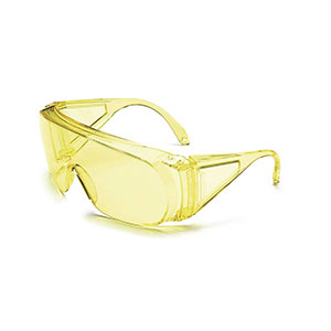 Honeywell HL100 Shooter's Safety Eyewear, Amber Frame, Amber Lens - R-01702