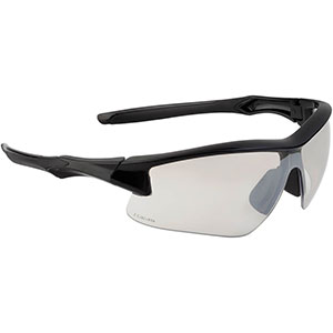 Honeywell Acadia Shooter's Safety Eyewear, Black Frame, SCT-Reflect 50 (I/O) Lens with with Scratch-Resistant Hardcoat Lens Coating - R-02216