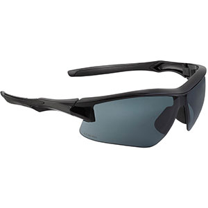 Honeywell Acadia Shooter's Safety Eyewear, Black Frame, Gray Lens with with Uvextreme Plus Anti-Fog lens coating - R-02217