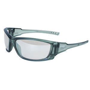 Honeywell Uvex A1500 Shooter's Safety Eyewear, Gray, SCT-Reflect Lens - R-02228