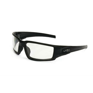 Honeywell Hypershock Shooter's Safety Eyewear, Black Frame, Clear Lens - R-02230