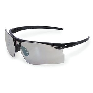 Honeywell Bayonet Shooter's Safety Eyewear, Black Frame, I/O Mirror Lens R-05040