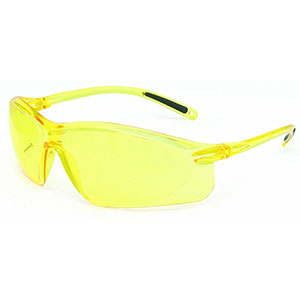 Honeywell A700 Safety Eyewear, Amber Frame, Amber Lens, Scratch-Resistant Hardcoat Lens Coating - RWS-51045
