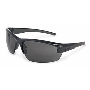 Honeywell Mercury Safety Eyewear with Black Frame, Gray Lens - RWS-51053