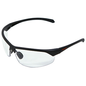 Honeywell HS300 Safety Eyewear, Matte Frame, Clear Lens- RWS-51070