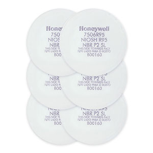 Honeywell R95 Pre-Filter Replacement Kit, for Honeywell Convenience Pack Respirators, 6 pk - RWS-54053