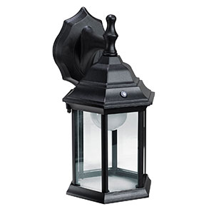 Honeywell LED Outdoor Wall Mount Lantern Light, 3000K, 625 Lumens, SS01A1-08
