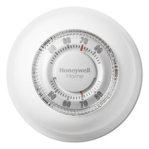 Honeywell YCT87K1003 The Round Heat Only Manual Thermostat