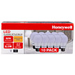 Honeywell A19 LED Light Bulb Set, 60W Equivalent Non-Dimmable 10 Pack, A196020HBX24