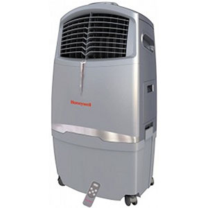 Honeywell CO30XE Evaporative Air Cooler For Indoor and Outdoor Use - 30 Liter (Grey)