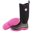 Muck Boots Women's Hale Boot in Black/Hot Pink, HAW-404