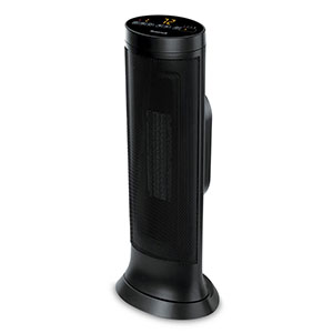 Honeywell Slim Ceramic Tower Whole Room Heater in Black, HCE317B