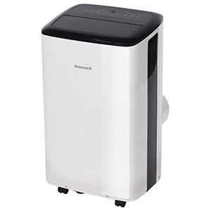 Honeywell 8,000 BTU Portable Air Conditioner, Dehumidifier & Fan - White & Black, HF8CESWK5