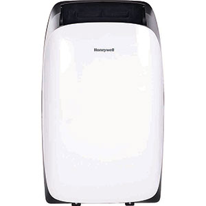 Honeywell HL10CESWK Portable Air Conditioner, 10,000 BTU Cooling, LED Display, Single Hose (White)