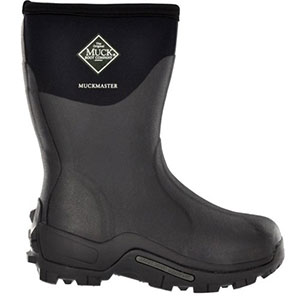 Muck Boot Muckmaster Commercial Grade Boot Mid, Black, MMM-500A