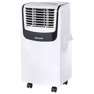 Honeywell 8,000 BTU Compact Portable Air Conditioner, Dehumidifier & Fan - White & Black, MO08CESWK6