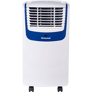 Honeywell MO08CESWB Compact Portable Air Conditioner, 8,000 BTU (White/Blue)