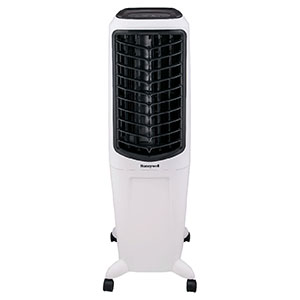 Honeywell TC30PEU Evaporative Tower Air Cooler with Fan & Humidifier, Washable Dust Filter, 470 CFM - 7.9 Gallon Tank (White)