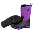 Muck Boots Women's Arctic Weekend Casual Boot in Black/Purple, WAW-500